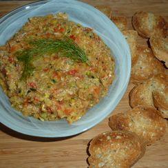 Grilled Vegetable Dip