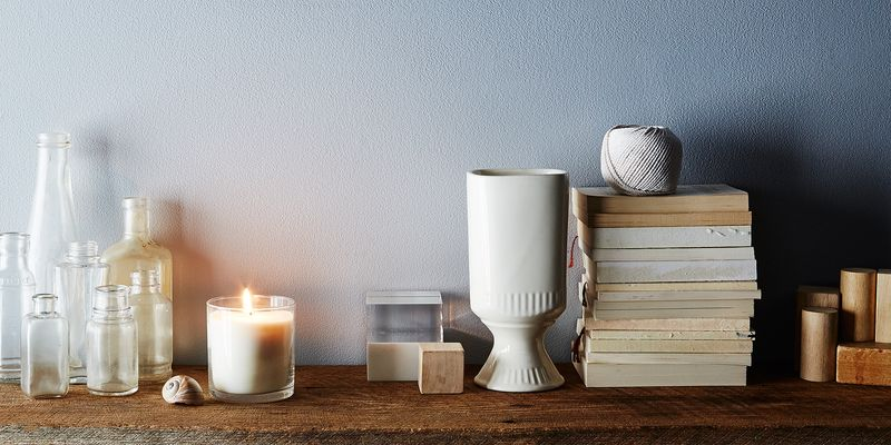 All of Hawkins New York's candles are made from soy wax and have a 60-hour burn time (thank goodness!).