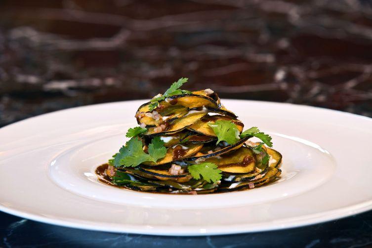 Eggplant Chaat at Junoon NYC