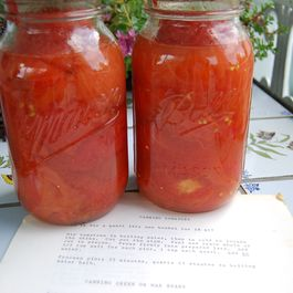 Grandma's Canned Tomatoes