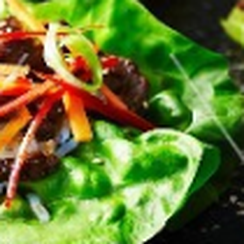 Shaved Quick Kimchi and Beef Salad