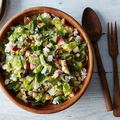 How to Make a Chopped Salad with What's Lying Around