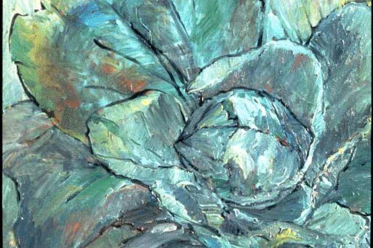 Gascon Stuffed Cabbage- une poule verte