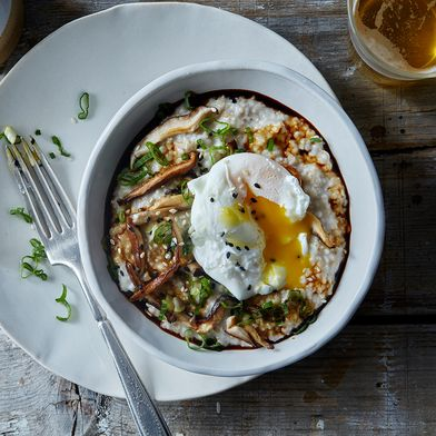 Savory Ris-Oat-to with Poached Egg
