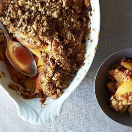 Southern Peach Crumble