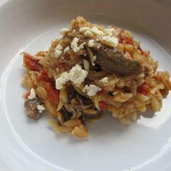 Arni Youvetsi: Greek Lamb Stew