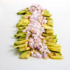 Avocado and Shallot Salad