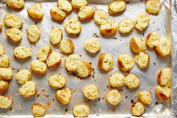 Twice-Baked Mini Potatoes Recipe
