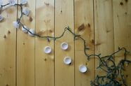 DIY String Lights for a Summer Party