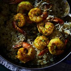 Shrimp Biryani (Indian Shrimp and Rice)