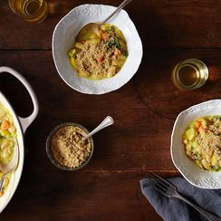 Golden Beet Cassoulet