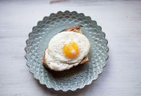 My Favorite Fried Egg on Toast