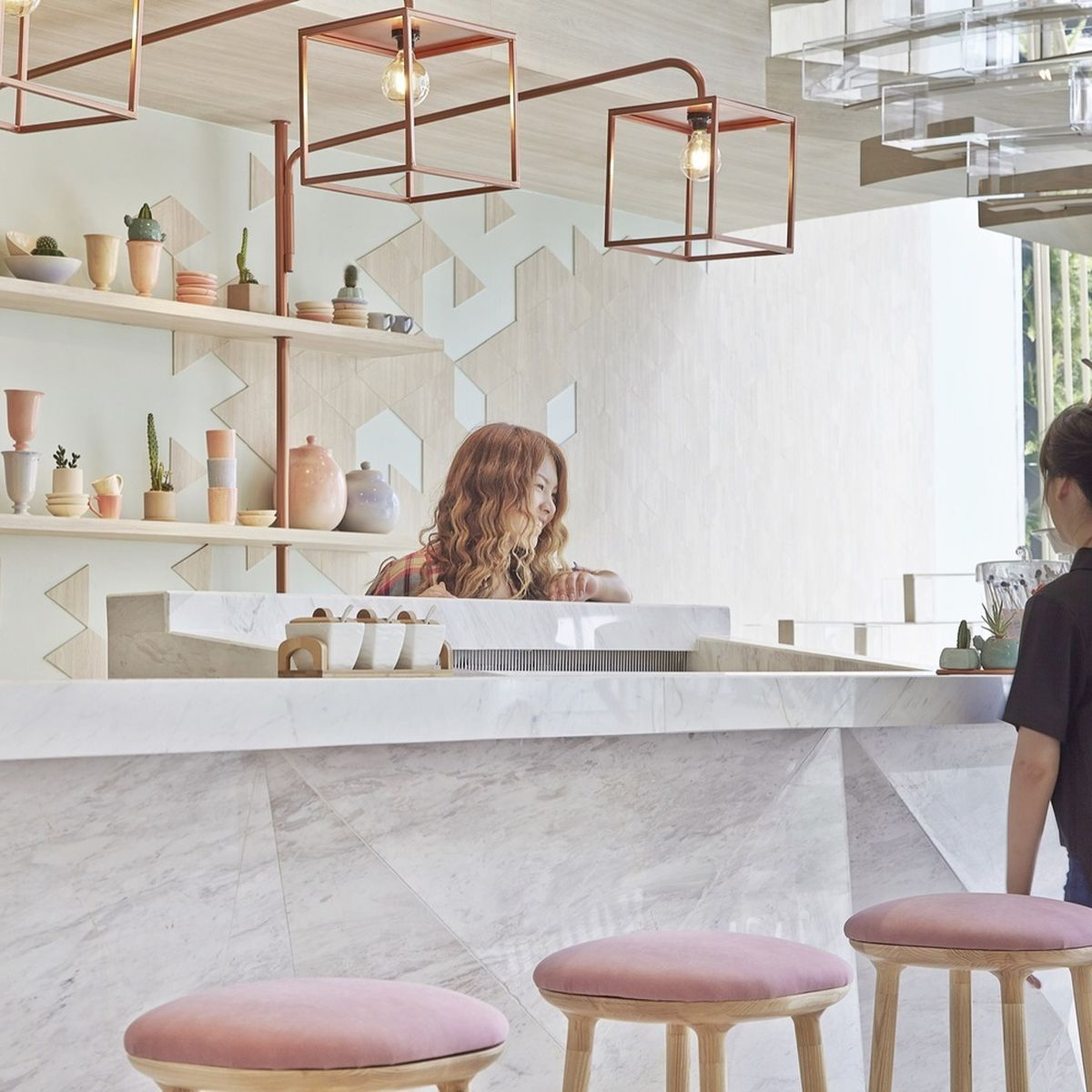 Design-Forward Ice Cream Shops