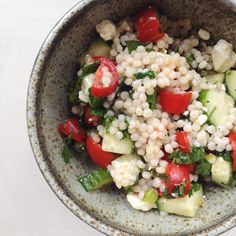 Fresh Lemon Israeli Couscous