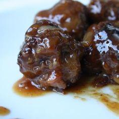 Spicy Sweet Meatballs