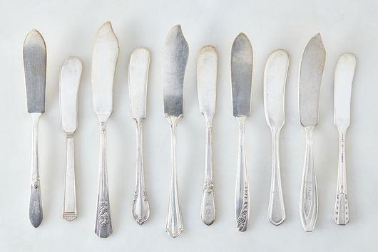 Vintage Silver-Plated Spreader