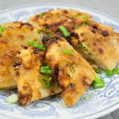 Crispy Chinese Scallion Pancakes