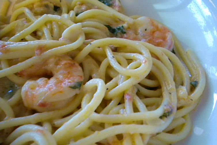 Seafood Pasta Rosa
