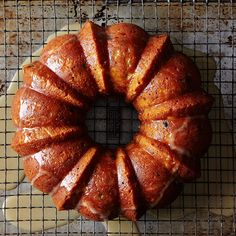 Tipsy Apple-Parsnip Cake with Sultanas and Cider Glaze
