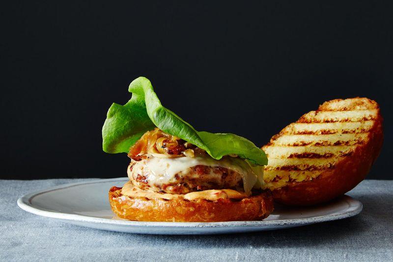 Fiendishly Tasty Bacon Turkey Burgers