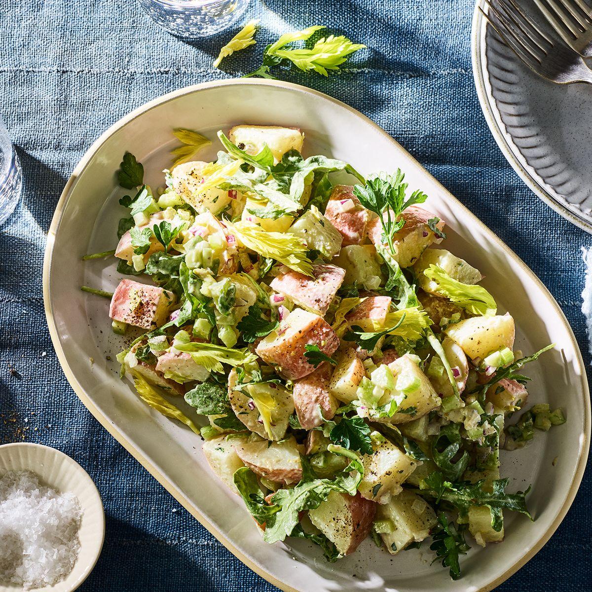 Lebanese Potato Salad No Mayo Recipe