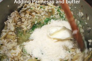 4505b649 a285 4e08 acb9 f7bda6a72337  risotto 6 adding parmesan and butter