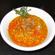 Very Plain Lentil Soup