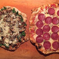 Rustic Grilled Pizza: Dough Recipe