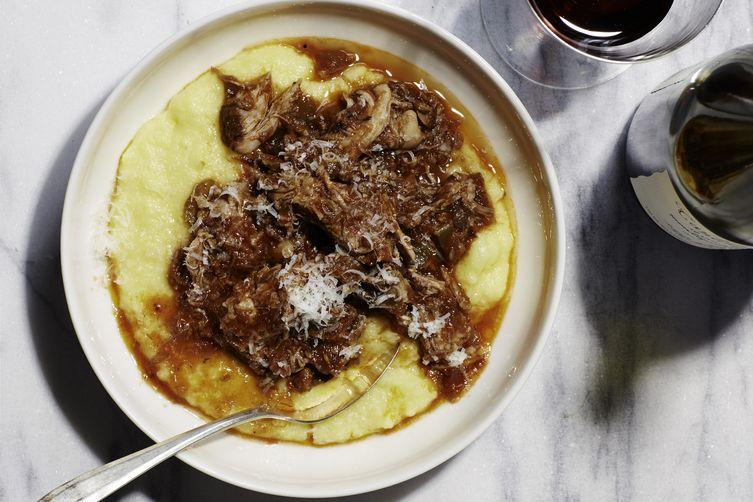 Martha Stewart's Slow-Cooker Italian-Braised Pork