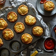 New Zealand-Style Beef & Cheddar Pies