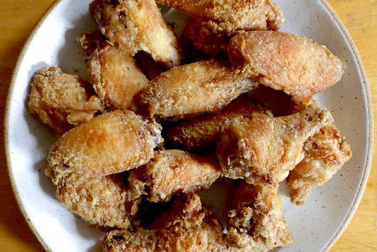 Insanely Crispy Five Spice Chicken Wings