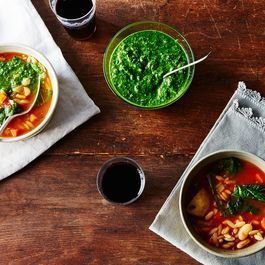 Cold-Weather Pesto for All-Year Green (and a Soup to Put It In)
