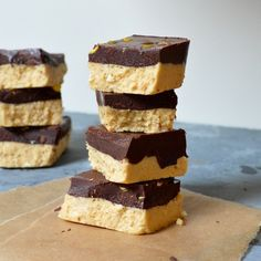 No-Bake Chocolate Shortbread