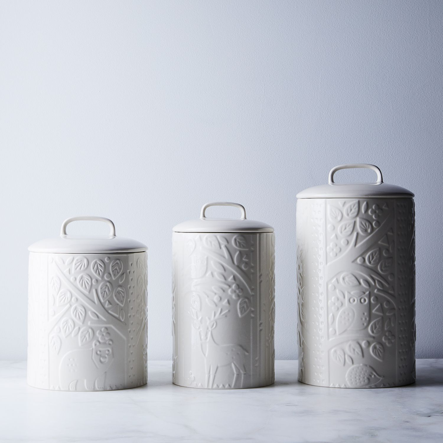 Mason Cash Forest Kitchen Canisters on Food52