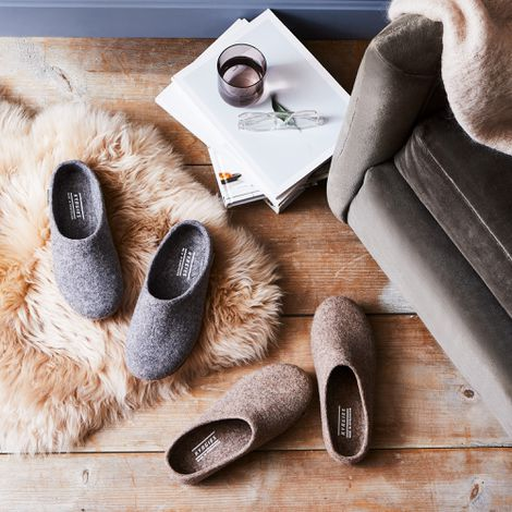 Classic Wool House Slippers