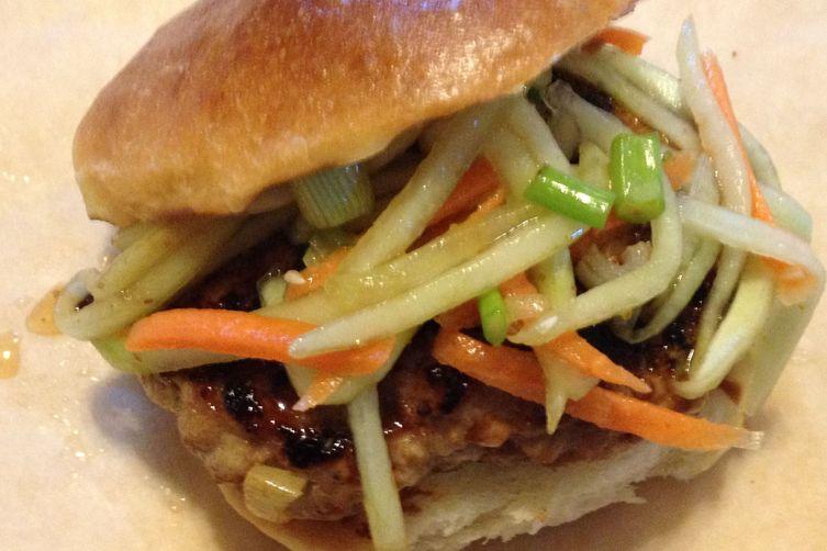 Asian Inspired Pork Burgers