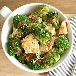 Asian Sesame Chicken & Broccoli
