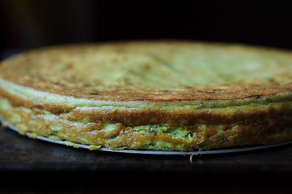 Spring Pea and Ricotta Torte