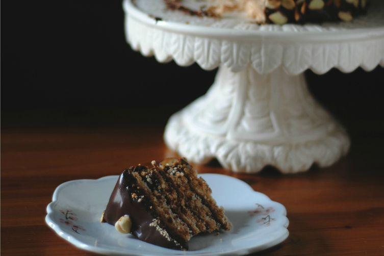 Chocolate Espresso Dacquoise – lactose free
