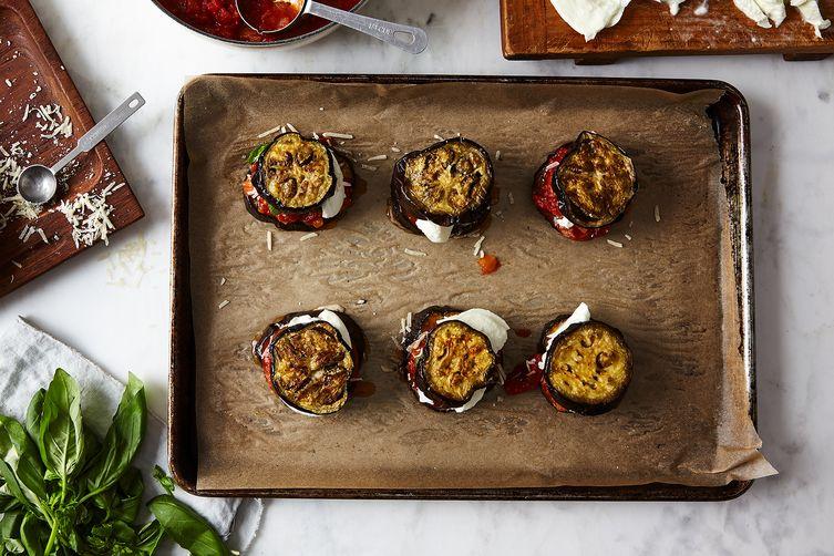 Mario Batali's Eggplant Parmesan
