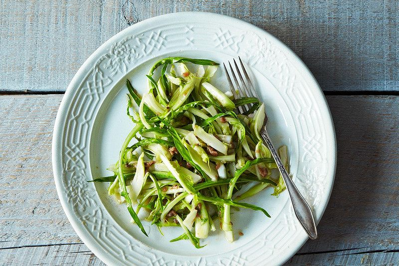 Puntarelle salad from Food52