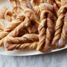 Laminated Cinnamon Sugar Twists