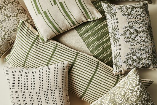 Throw Pillows Are Meant to Be Fun—Here's How to Style Them