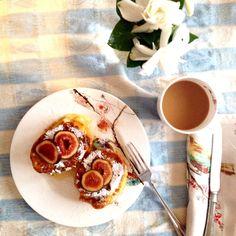 Chedder & Fig Monte Cristo Sandwiches
