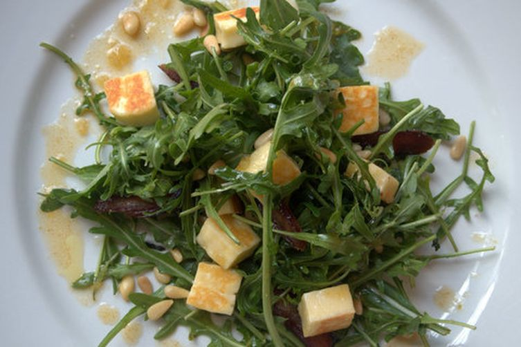 Haloumi, Date and Spiced Orange Salad