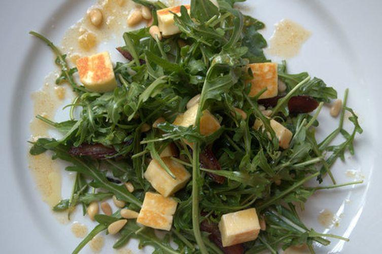 Haloumi, Date and Spiced Orange Salad
