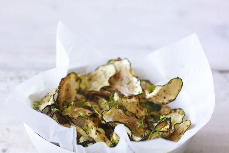 Chipotle Lime Zucchini Crisps