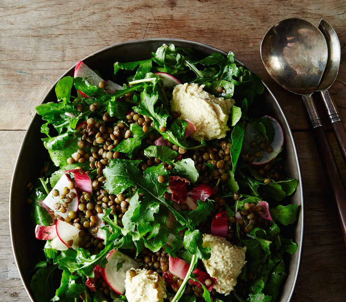 How to Make Vegan French Lentil Salad with Cashew Cream