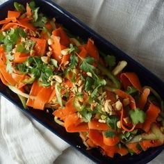 Spicy Pickled Carrot Salad