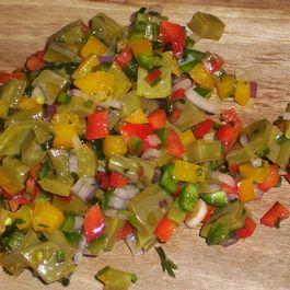Nopales salsa